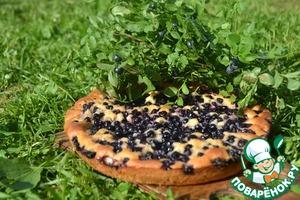 Черничный пирог домашний рецепт приготовления с фотографиями пошагово как готовить
