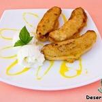 Десерт «Бананы в кляре»