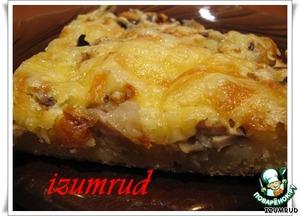 Как приготовить Быстрый грибной торт домашний пошаговый рецепт приготовления с фото