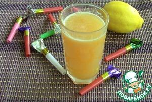 Рецепт Ананасово-банановый сок