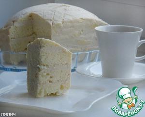 """Рецепт """"Снежный"""" торт (в микроволновке)"""