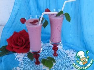 Рецепт Малиновый напиток по-болгарски