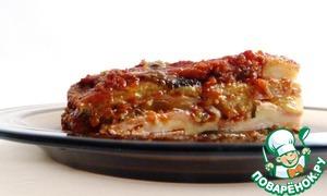 Рецепт Итальянская запеканка с баклажанами