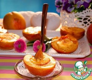 Рецепт Нектарины и персики крем брюле