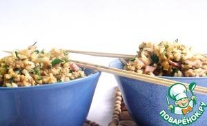 Рецепт Жареный рис с яйцом