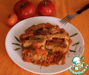Рецепт Свинина с имбирем и морковью