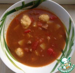 Венгерский суп-гуляш рецепт с фото как приготовить