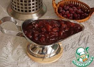 Рецепт Чатни из яблок и клюквы