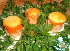 """Рецепт Закуска """"Морковные грибочки"""""""