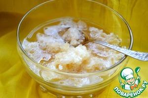 Рецепт Лимонный щербет с чайным вкусом