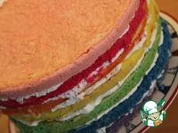 """Торт """"Радужный"""" ингредиенты"""