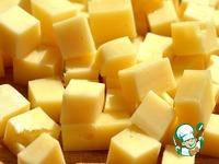 Закуска из шампиньонов с сыром на шпажках ингредиенты