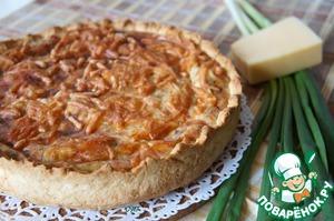 Рецепт Сырно-творожный пирог