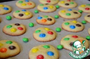 Рецепт Американское печенье с M&M's