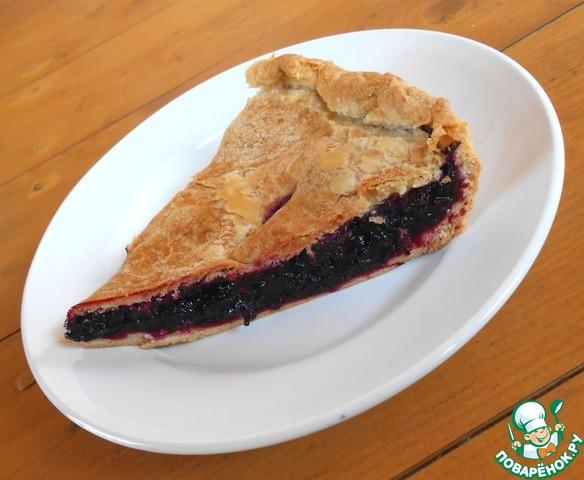 Закрытый пирог я ягодами рецепт 197