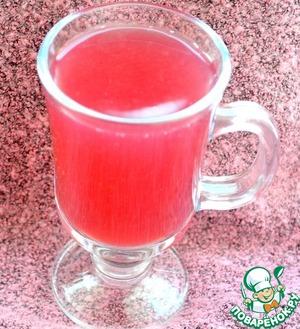 Рецепт Ежевично-вишнево-клубничный кисель