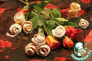 Хворост нежный плюс розы для любимой