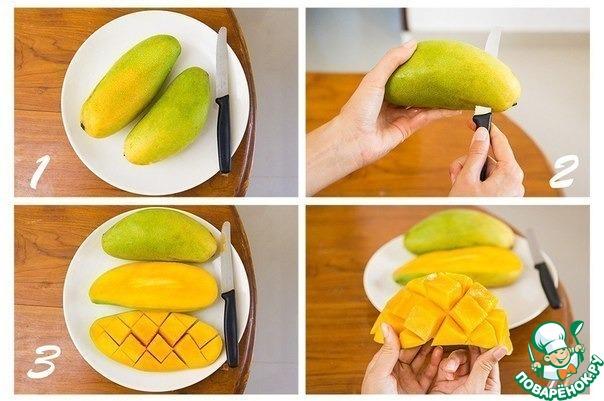 Как почистить манго в домашних условиях видео - Shmorl.RU