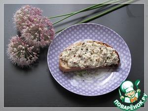 Рецепт Паштет из копченой скумбрии с розовым перцем