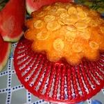 Арбузный кекс с кукурузными хлопьями