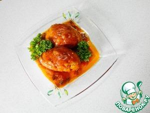 Рецепт Гречаники в томатном соусе (в мультиварке)