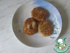 Рецепт Котлеты с рыбными консервами