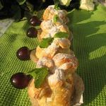 Фаршированные абрикосы в мешочке