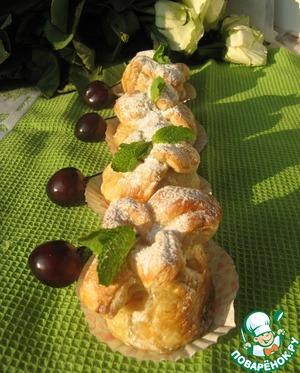 Как приготовить Фаршированные абрикосы в мешочке простой пошаговый рецепт с фото