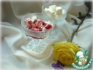 Рецепт Горящий малиновый соус