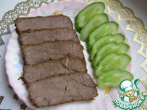 Рецепт Ароматная говядина в мультиварке