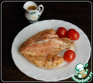 Рецепт Куриная грудка в грейпфрутовом соке