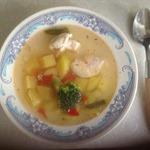 Быстрый диетический суп