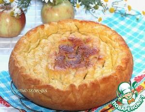 Рецепт Пирог с картошкой и грибами в мультиварке Stadler Form