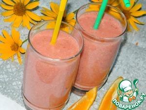 Рецепт Смузи с апельсиновым соком