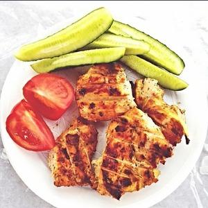 Рецепт Диетический куриный шашлычок