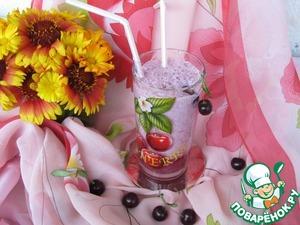 Рецепт Коктейль молочно-вишневый