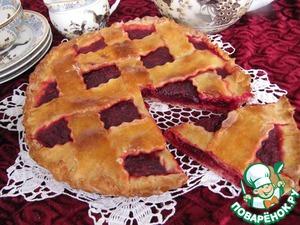 Рецепт Свекольный пирог с клюквой