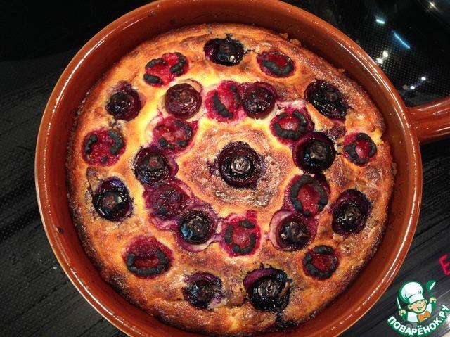Пудинг с ягодами рецепт