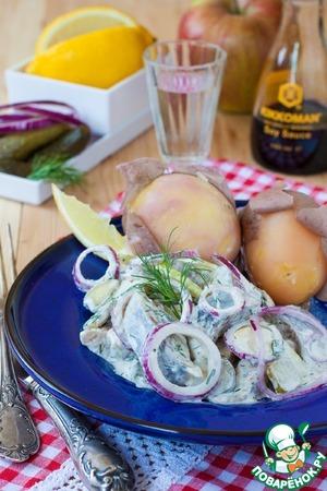Рецепт Мещанский селедочный соус