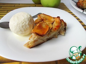 Рецепт Яблочный пирог сестер Симили