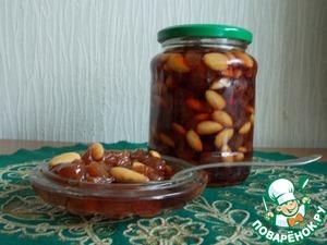 Рецепт Варенье из винограда с миндальным орехом