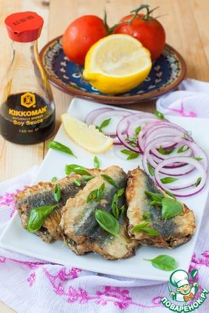 Рецепт Жареная рыба с зеленью по-мароккански