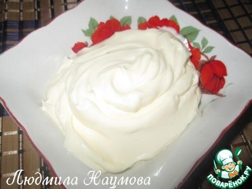 Крем сливочный для торта с сиропом