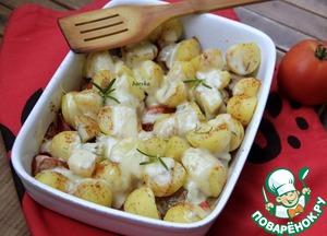 Рецепт Гратен из филе свинины и овощей