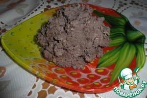 Рецепт Паштет из куриной печени с черносливом и орехами