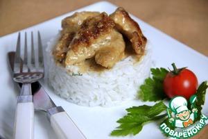 Рецепт Обрезочки мяса Geschnetzteltes из индейки в сливочно-бальзамическом соусе