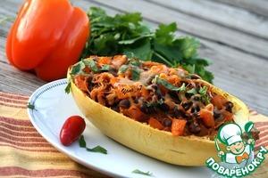 Рецепт Фаршированная тыква-спагетти