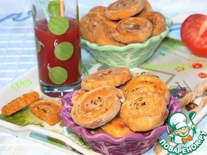 Рецепт Закусочные пышки на томатном соке