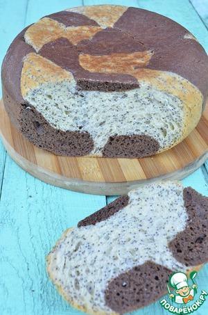 Рецепт Сладкий маково-шоколадный хлеб
