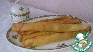 Рецепт Блинчики с начинкой из печени и моркови
